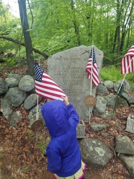 Jaffrey NH Small Pox Cemetery